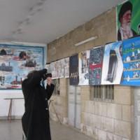 بازتاب پوسترهای 9 دی در سوریه