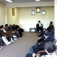 دیدار اعضای ستاد مردمی بزرگداشت 9 دی با آیت الله علم الهدی