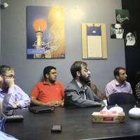 گزارش تصویری هم اندیشی طراحان نهضت پوسترهای عاشورا با حضور استاد نجابتی