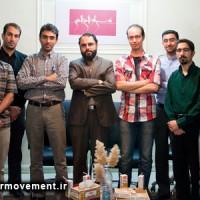 گزارش تصویری هم اندیشی طراحان نهضت پوسترهای عاشورا با مهران گلستان