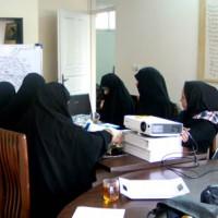 برگزاری کارگاه تولید پوستر «ایران جوان» توسط خواهران نهضت