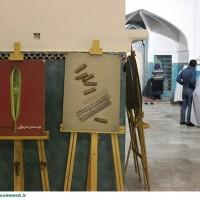 گزارش تصویری/اکران پوسترهای ایران جوان در مسجد امیر چخماق یزد در نوروز94