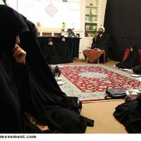 """گزارش تصویری/""""جهادفاطمی""""روضه حضرت زهرا(س)درنهضت مردمی پوسترانقلاب"""