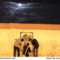 گزارش تصویری گرافیتی میلاد امام رضا علیه السلام : گرافیتی در اعتراض به تجاری سازی مشهد