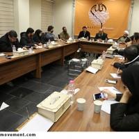 نشست خبری فراخوان کشوری طراحی پوستر وحدت (حبل الله) در جمع خبرنگاران و اصحاب رسانه برگزار شد