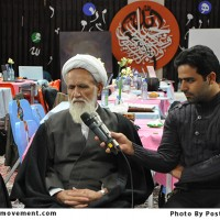 گزارش تصویری از بازدید آیت الله حائری شیرازی از کارگاه حبل الله