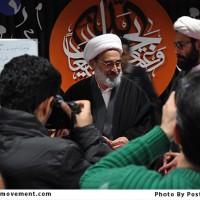 دیدار حجه الاسلام رحیمیان، تولیت آستان مقدس جمکران از کارگاه پوستر حبل الله
