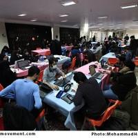 گزارش تصویری از کارگاه کشوری پوستر وحدت، حبل الله