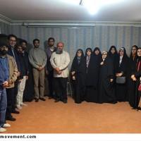 جلسه عیدانه نهضت مردمی پوستر انقلاب باحضور استاد نجابتی برگزارشد.