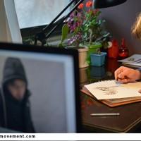 کارگاه تولید پوستر و موشن گرافیک«نه گرداب، نه مرداب»برگزارشد
