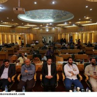 گزارش تصویری مراسم اختتامیه دومین کارگاه تولید پوستر نقش بهشت در مشهد