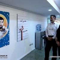 افتتاح نمایشگاه «راهی که از سر گرفتیم» با موضوع شهید محسن حججی در حوزه هنری تهران